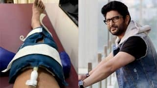 Arshad Warsi suffers from knee injury; post picture of his recovery from hospital on Twitter!