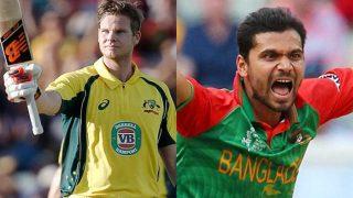 चैंपियंस ट्रॉफीः 'करो या मरो' के मैच में होगी ऑस्ट्रेलिया और बांग्लादेश की भिड़ंत