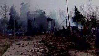 बालाघाट: पटाखा फैक्ट्री में हुए धमाके में जिंदा जले लोग, 500 मीटर तक बिखरे पड़े थे शव
