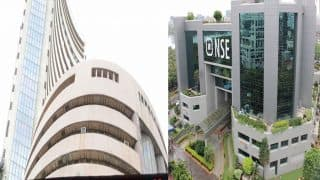 Markets Close: Sensex falls 166 points, Nifty holds 9600 mark due to caution ahead of CPI data release today