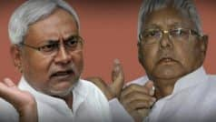 Why Nitish Kumar Became CM Despite Being Booked Under Murder Charge, Questions Lalu Prasad Yadav
