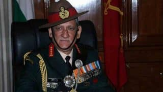 Future Armoured Vehicles Should Operate on Western and Northern Borders: Indian Army Chief General Bipin Rawat