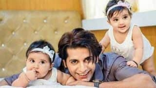 Karanvir Bohra's twins Vienna and Bella to make their TV debut
