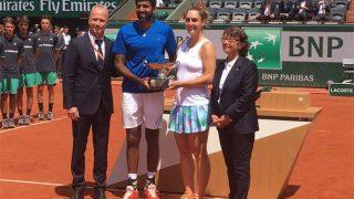 फ्रेंच ओपनः भारत के रोहन बोपन्ना ने डाब्रोवस्की के साथ जीता मिक्स्ड डबल्स का खिताब