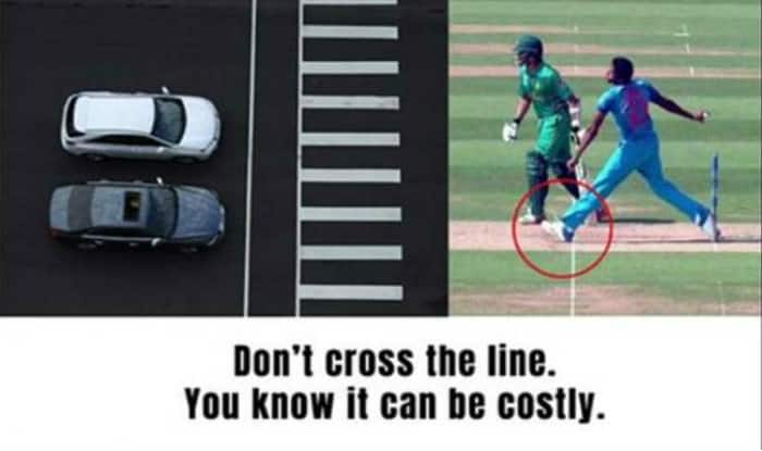 Jasprit Bumrah slams Jaipur traffic police for no ball billboard on Twitter