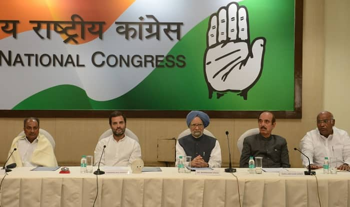 Congress working committee meeting underway at Sonia's residence