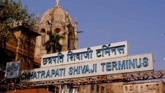 Maharashtra: Rail Block in Up And Down Harbour Lines of Chhatrapati Shivaji Maharaj Terminus Today