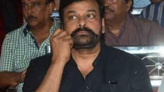 Chiranjeevi's twirled mustache a new look for his next film?