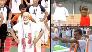 International Yoga Day 2017 celebrated across the world, PM Modi, thousands perform Yoga in Lucknow