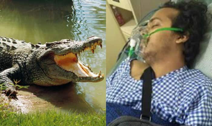 Young entrepreneur's arm bitten off by crocodile