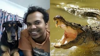 Braveheart startup CEO loses arm while saving his pet dogs from crocodile attack in Bengaluru