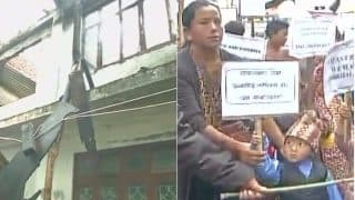 Darjeeling unrest: PWD office set on fire over Gorkhaland demand amidst GJM strike; children support separate state protest