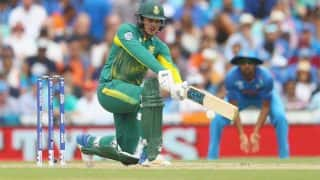 India vs South Africa 2018: Quinton de Kock Ruled Out of Remaining ODIs And T20I Series