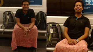 Delhi Men wear skirts instead of pants! See pictures that support cross-dressing in the coolest way possible