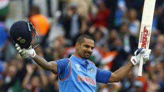 चैंपियंस ट्रॉफीः धवन ने श्रीलंका के खिलाफ जड़ी जोरदार सेंचुरी, सोशल मीडिया में मच गई हलचल!