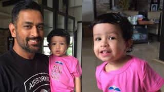 Father's Day 2017: MS Dhoni's adorable photos with daughter Ziva prove they are the coolest father-daughter duo!