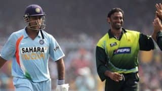 MS Dhoni rates Shoaib Akhtar as toughest bowler he faced ever