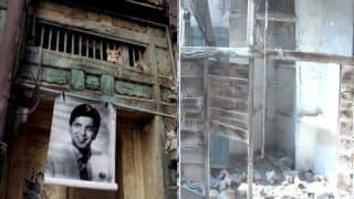 Indian Actor Dilip Kumar's 100-year-old ancestral home in Pakistan caves in! Veteran Bollywood star's Peshawar house will be reconstructed soon