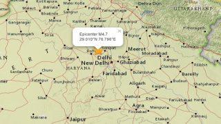 Earthquake measuring 4.7 on Richter Scale hits Haryana, tremors felt in Delhi NCR