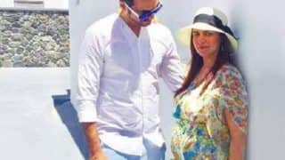 This picture of a pregnant Esha Deol with hubby Bharat Takhtani is what love is all about!