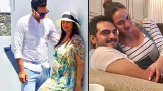 Pregnant Esha Deol and husband Bharat Takhtani enjoy their babymoon in the serene city of Greece! (View pictures)