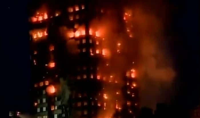 Fire engulfs London highrise, at least six dead, more than 70 injured