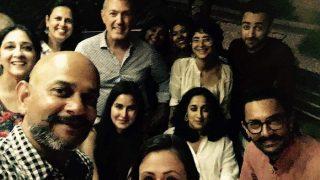 Aamir Khan, Katrina Kaif click a groupie on Thugs of Hindostan sets, but where's Fatima Sana Shaikh?