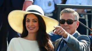 George Clooney and Amal announce the birth of twins Ella and Alexander in the funniest, sweetest way ever!