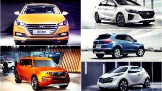 Upcoming new Hyundai Cars coming to India in 2017-18: New generation Verna, Santro, Creta facelift & Carlino