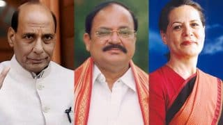 Hectic parleys on over Presidential elections; Rajnath, Naidu to meet Sonia on Friday