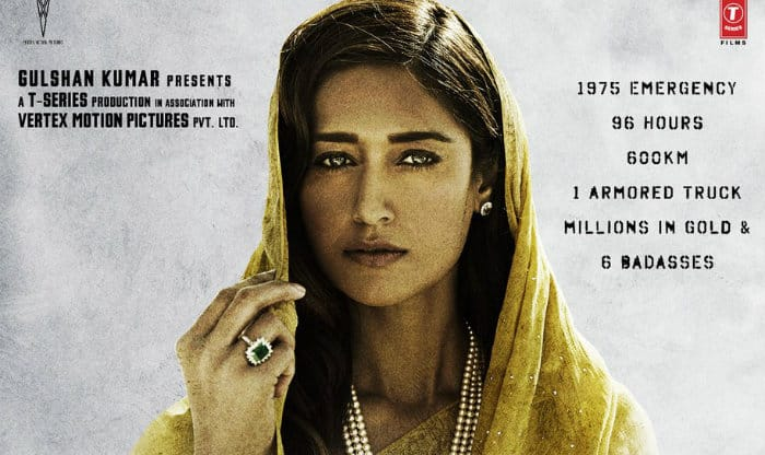 'Baadshaho': Ileana D'Cruz looks Royal in brand new poster - See PIC