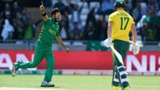Pakistan spinner Imad Wasim replaces Imran Tahir as top-ranked T20I bowler