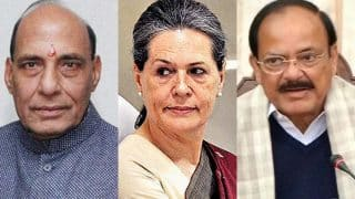 Presidential polls 2017: Rajnath, Naidu meet Sonia, other Congress leaders, Azad says BJP revealed no name