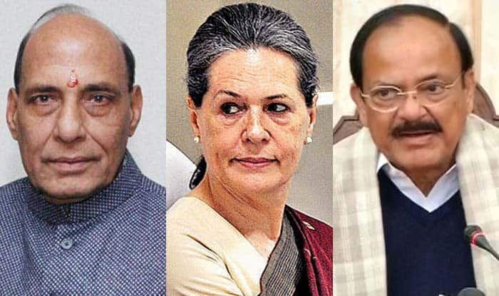 Rajnath, Naidu meet Sonia to discuss Presidential candidate