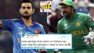 India vs Pakistan 2017 ICC CT Final: Twitter cannot stop making father-son connection ahead of Champions Trophy decider on Father's Day