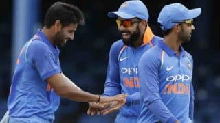 LIVE Cricket Score India vs West Indies 3rd ODI 2017: IND win by 93 runs