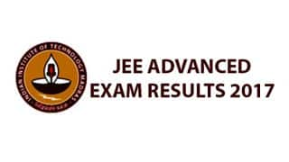 JEE Advanced 2017 Exam Results tomorrow at 10 am: Check results at jeeadv.ac.in
