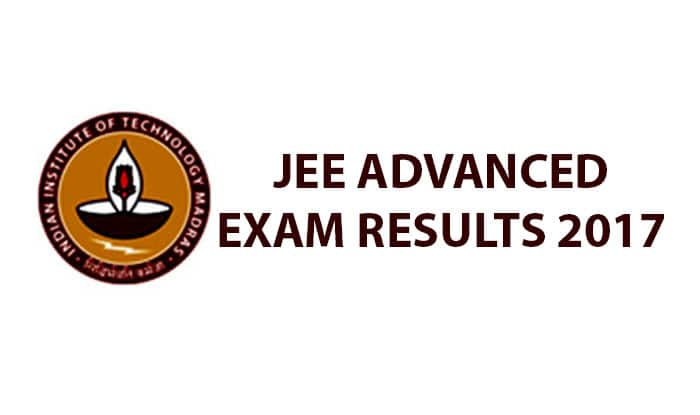 JEE advanced results out on website""
