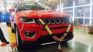 Fiat Chrysler Automobiles India Recalls 1,200 Jeep Compass Units With Faulty Airbag