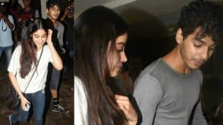 Jhanvi Kapoor and Ishaan Khatter look super adorable as they bonded at an event! (View Pics)