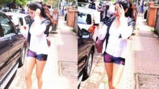 Why was Jhanvi Kapor hiding her face from shutterbugs while leaving the gym? View HQ pics