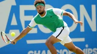 Queen's Championships: Jo-Wilfried Tsonga crashes out after losing to Gilles Muller