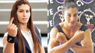 Kavita Devi is the first Indian woman to compete at WWE! Former MMA Champion to participate in Mae Young Classic