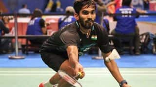 India's Shuttler Ace Srikanth Kidambi Crashes out of Denmark Open After Semi-Finals Defeat