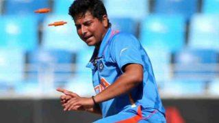 India vs Australia 2017, 2nd ODI: Kuldeep Yadav Becomes First Indian Spinner to Take an ODI Hat-Trick