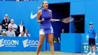 Petra Kvitova sends Wimbledon warning with Birmingham title