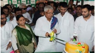 Lalu Yadav and Rabri Devi