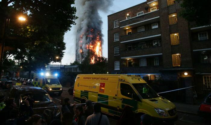 At least 12 dead, 74 injured in London high-rise fire