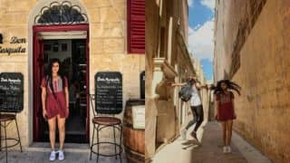 Fatima Sana Shaikh takes us on a tour of Malta, making the wait for Thugs of Hindostan difficult