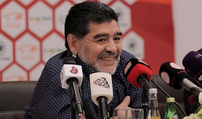 File photo of Diego Maradona. (Getty)